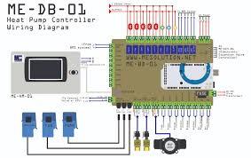 heat pump control board m u0026e team work co ltd