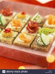 canapes aperitif aperitif canapés stock photo royalty free image 39645997 alamy