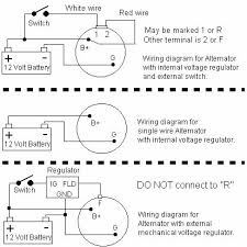 wiring diagram for 3 wire alternator efcaviation com