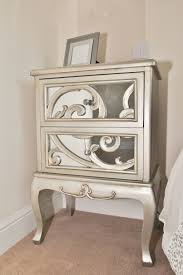 Bedside Table Ideas by Bedroom Mirrored Bedside Table Mirrored Bedside Tables Antique