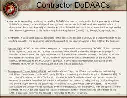 usmc dodaac workflow requirements ppt download