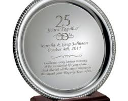 50th anniversary plate engraved engraved plate etsy