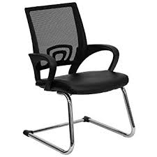 Reception Chair Flash Furniture Black Mesh Side Reception Chair With