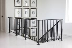 Steel Banister Rails Custom Residential Wood And Steel Railing And Staircases Factor