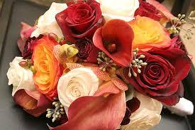 fall bridal bouquets fall wedding bouquets lovetoknow