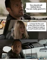 Knitting Meme - knitting isn t cheap by cheekymonkey99 meme center