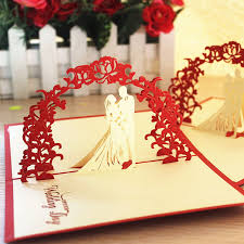 wedding gift greetings sweet wedding gift ideas handmade greeting cards three dimensional
