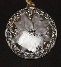 set of 3 mikasa ornaments ebay