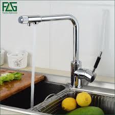 online get cheap kitchen faucet 3 way chrome aliexpress com
