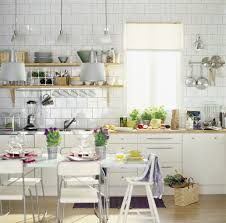 Backsplash Ideas For Small Kitchen Kitchen Great Small Kitchen Design With Wooden Floor And White