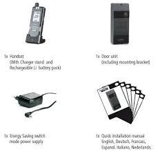 doorphone 150 mobile wireless audio door phone system marmitek