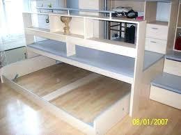 fabriquer un sous de bureau lit estrade charmant fabriquer une estrade pour lit 0 fabriquer soi