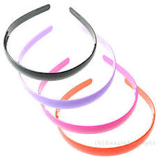 thin headbands plain headband plastic band thin plastic hair band craft