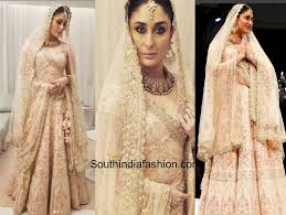 wedding dress qatar kareena kapoor in vikram phadnis south india fashion