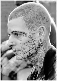 crazy amazing brave face tattoos tattoos beautiful