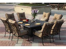 Rectangle Fire Pit Table Darlee Outdoor Living Series 60 Cast Aluminum 64 Square Dining