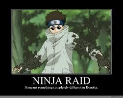 Raid Meme - ninja raid anime meme com