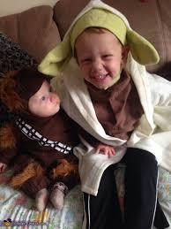 Yoda Halloween Costume Infant Baby Chewbacca Costume Photo 4 4