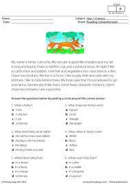 christmas comprehension key stage 1 worksheet comprehension