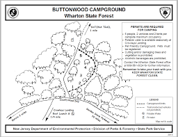 First Landing State Park Trail Map by Buttonwood Hill Camping Area Wharton Nj 1 Hipcamper Review And