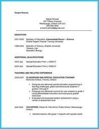 Assistant Teacher Resume Examples by Sample Resume For Psychology Graduate Http Www Resumecareer