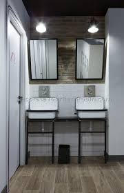Industrial Bathroom Vanity by Industrial Bathroom Decor Home Design Ideas