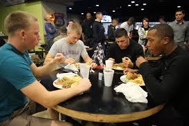 file marines sailors enjoy thanksgiving dinner 141127 m sr938 030