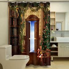 Shower Curtain Door 2018 Door Shower Curtain Personalized Waterproof 3d