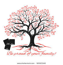 genealogical tree concept family tree template stock vector