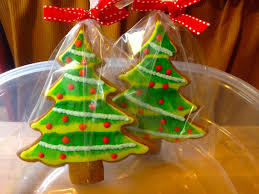 Decorated Christmas Tree Cookies by Heidi U0027s Mix Christmas Tree Cookies