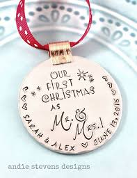 Diy Custom Christmas Ornaments by Best 25 First Christmas Married Ideas On Pinterest Our First