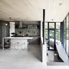 a home in quebec u0027s wooded landscape by alain carle
