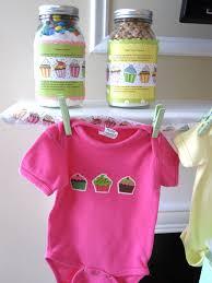 cupcake themed baby shower