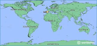 spain on a map where is spain where is spain located in the spain map