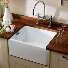 ceramic kitchen sinks ceramic sinks ebay