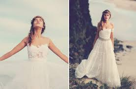 bohemian beach wedding dresses pictures ideas guide to buying