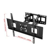 rocketfish full motion tv wall mount amazon com fleximounts a04 full motion articulating tv wall mount