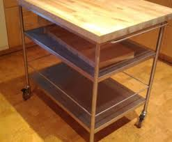 butcher block island on wheels full size of for kitchen trolleys