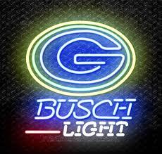 busch light neon sign busch light nfl green bay packers neon sign for sale neonstation