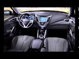 Veloster Hyundai Interior 2014 Hyundai Veloster Interior Youtube