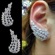 ear cuffs india buy cuff earrings online at low prices in india jewelvista