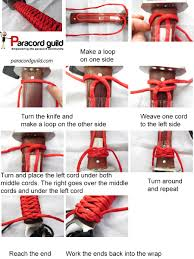 Japanese Wrapping Method by How To Make A Paracord Knife Wrap Paracord Guild