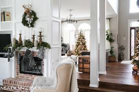 green and white christmas decorating ideas maison de pax