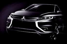 mitsubishi plans sporty outlander plug in hybrid concept for paris