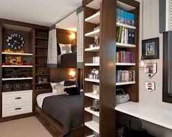 Small Bookshelf Ideas Bedroom Small Bedroom Storage Design With White Fur Rug On