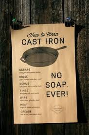 The 11 Commandments Of Cast Iron Care Survival Skills