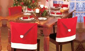 Santa Chair Covers Santa Hat Dining Chair Covers Groupon