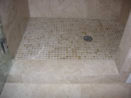 travertine shower pan redmond jims custom tile and cabinetry