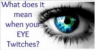 what does it when your eye shakes jumps or twitches health