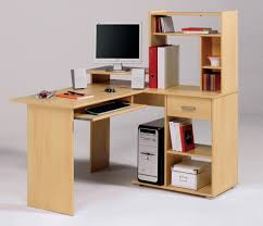 Light Wood Computer Desk Awesome Cool Desks Images Ideas Tikspor